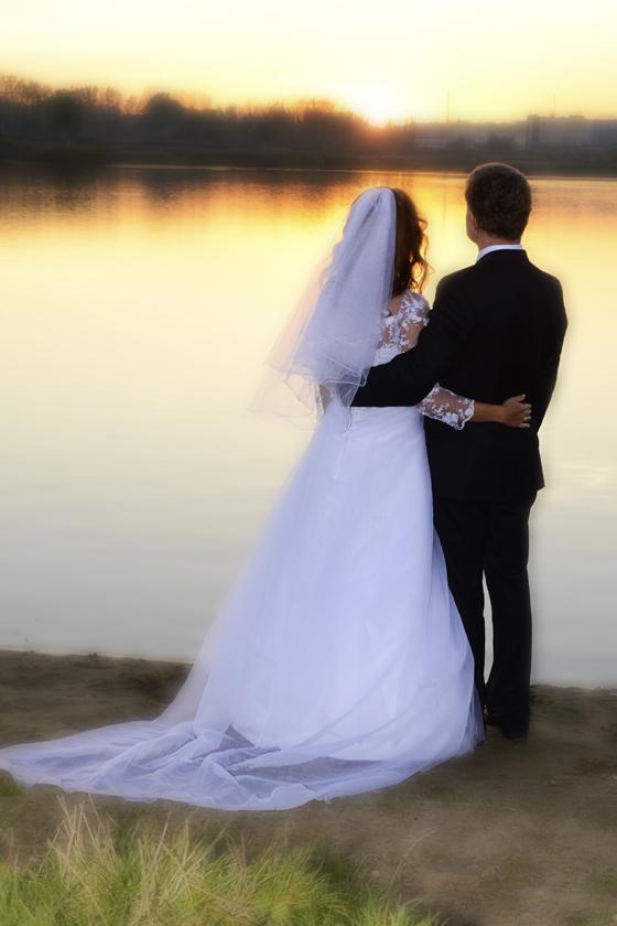 plener ślubny nad Bagrami kraków