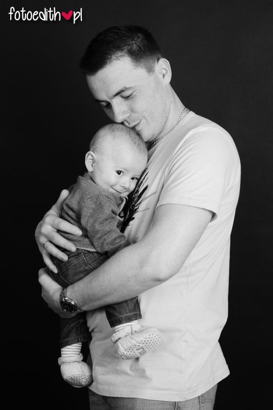 Zdjęcie ojca z dzieckiem