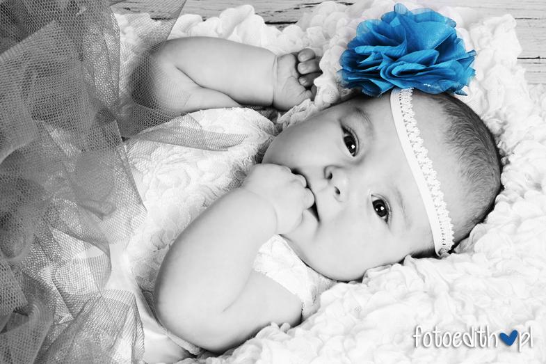 piękne zdjęcia niemowląt Kraków