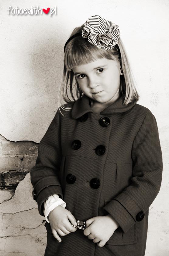 sesja dziecięca retro kraków
