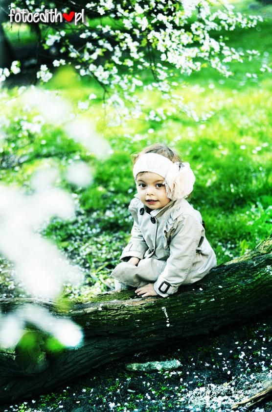 sesja wiosenna dziecięca