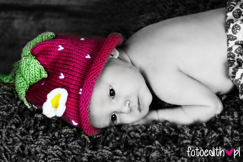 sesja zdjęciowa niemowląt Kraków