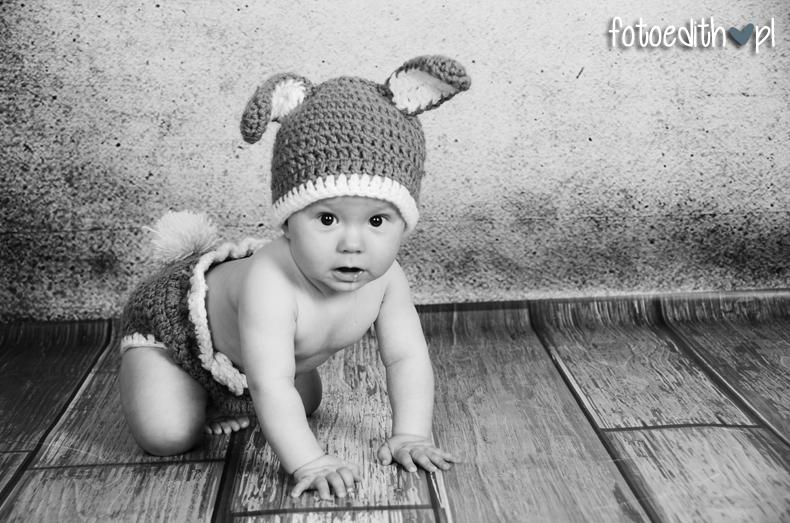 zajączek ubranko dla niemowląt