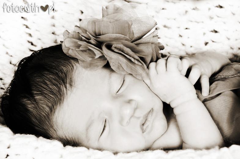 zdjęcia niemowląt Kraków fotograf