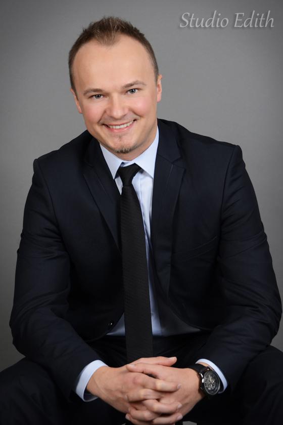 męska sesja biznesowa Kraków