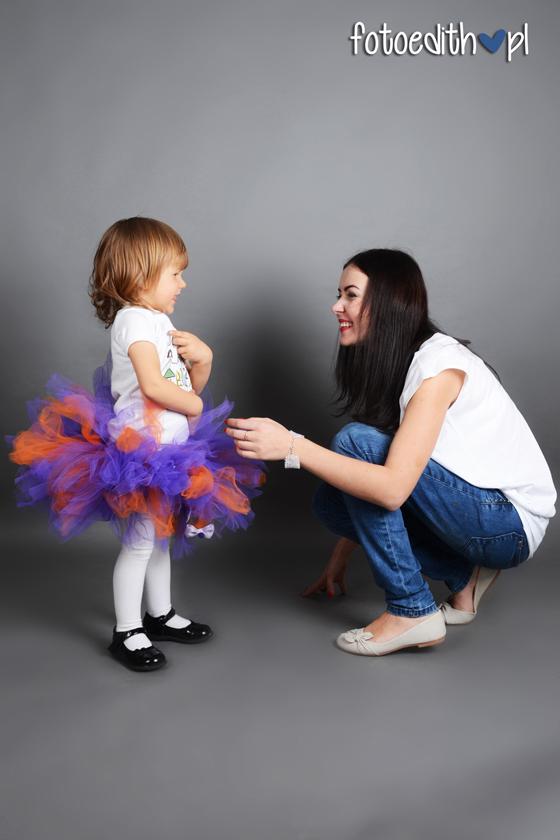 mama z córką sesja