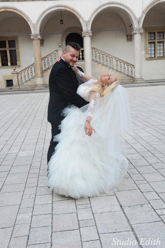 zdjęcia-ślubne-na-Wawelu