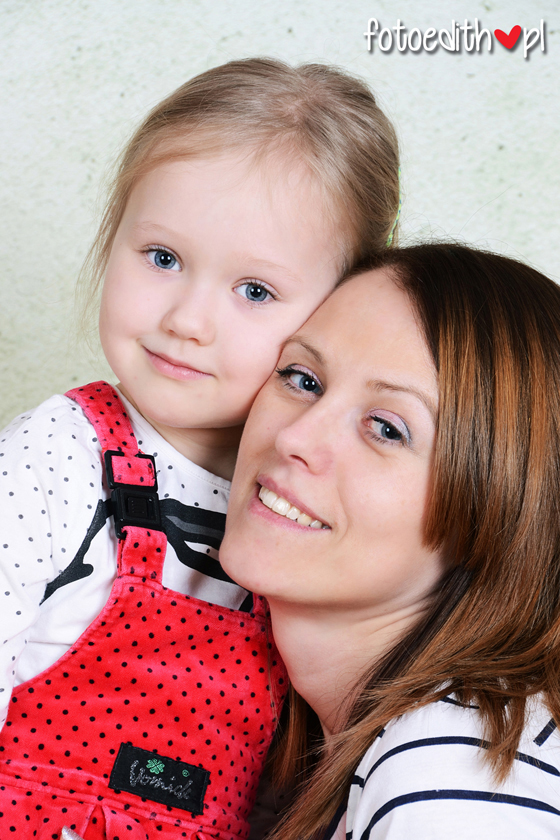 sesja mama z córką Kraków